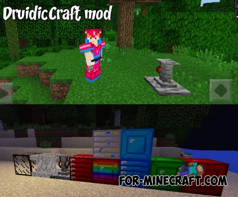 DruidicCraft mod v3.2.0 for Minecraft PE