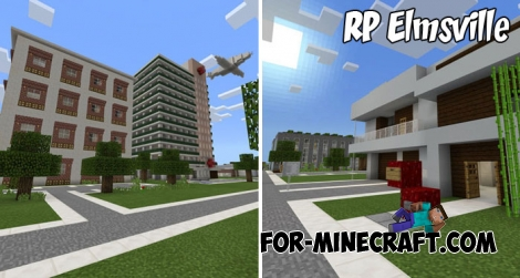 RP Elmsville for Minecraft PE 1.2+