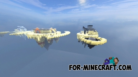 PvP Islands map for Minecraft PE 1.2