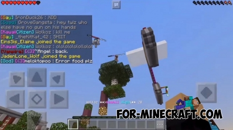 Kawaii HighSchool Roleplay server for MCPE 1.2