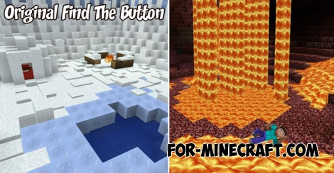 Original Find The Button map for Minecraft PE 1.2+