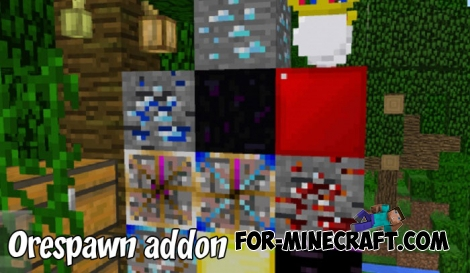 Orespawn addon for MCPE 1.2/1.5