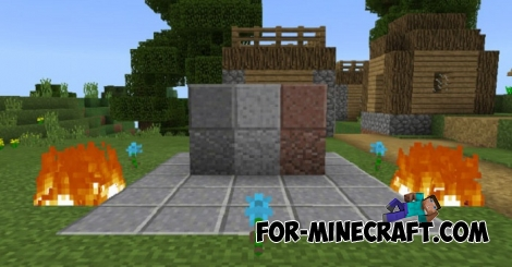 Cleaner texture pack for Minecraft Bedrock 1.2/1.5