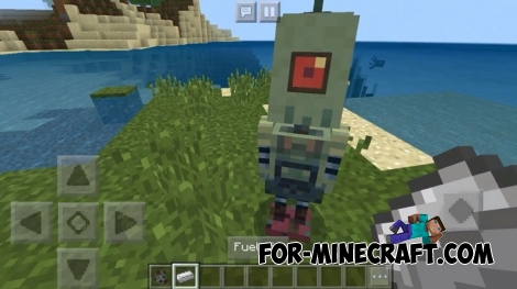 Self Controlled Robot addon for Minecraft 1.4/1.5