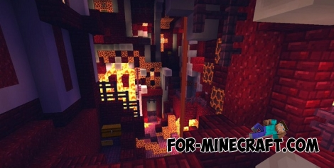 Rotar IV map for Minecraft PE 1.2+