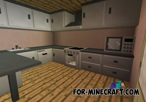 SlePE Furniture mod v1.2 for Minecraft PE (Bedrock)