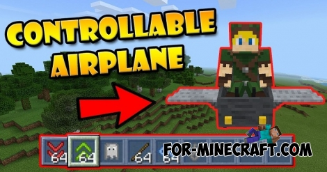 Mini-Airplane addon for MCBE 1.2/1.5