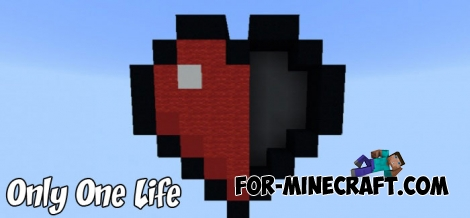 Only One Life map for Minecraft PE 1.2/1.6+