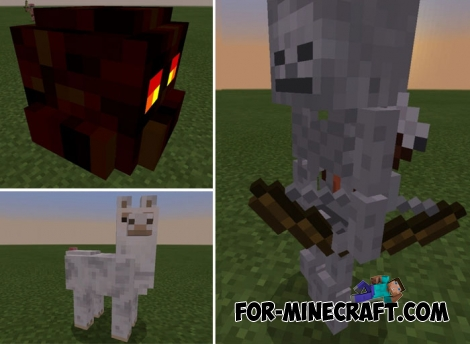 Realistic Creatures for Minecraft BE 1.6+
