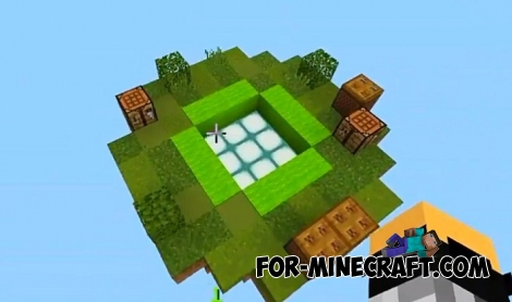 Elytrax map for Minecraft PE 1.6+