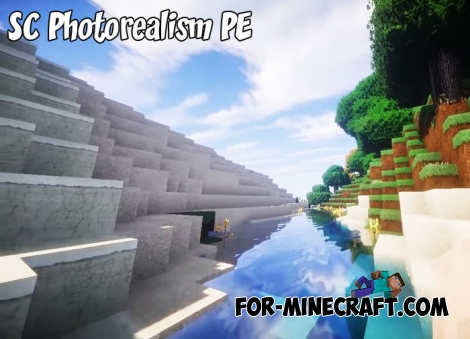 SC Photorealism PE textures for MCPE 1.4/1.6+