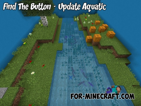Find The Button - Update Aquatic map for MCPE