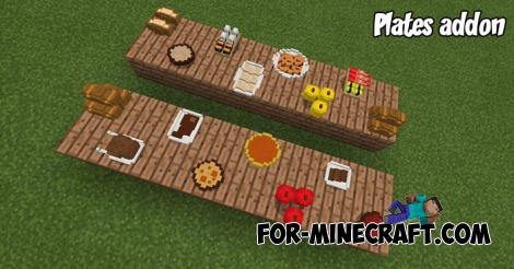 Plates addon v4 for Minecraft BE 1.2.20/1.6