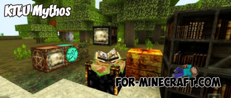 KTLU Mythos texture pack for Minecraft BE 1.4+