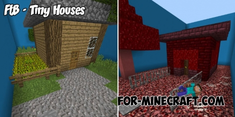 FtB - Tiny Houses map for Minecraft PE 1.6