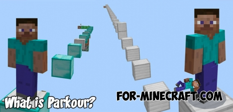 What is Parkour? map for Minecraft PE 1.5+