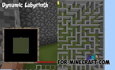 Dynamic Labyrinth map for MCPE 1.7+