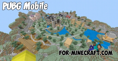 PUBG Mobile map for MCPE 1.6/1.7