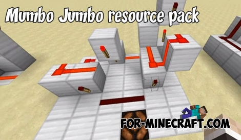Mumbo Jumbo resource pack for MCPE 1.2/1.7