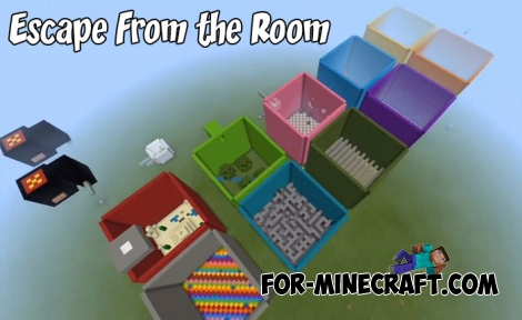 Escape From the Room map for MCPE 1.7