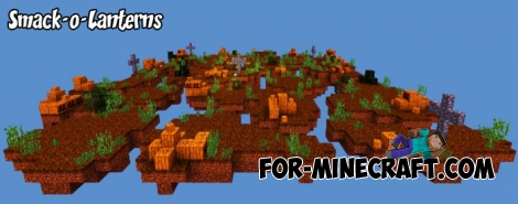 Smack-o-Lanterns map for Minecraft BE 1.8+