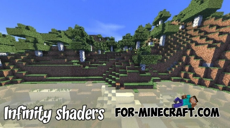 Infinity shaders for Minecraft 1.7 Release