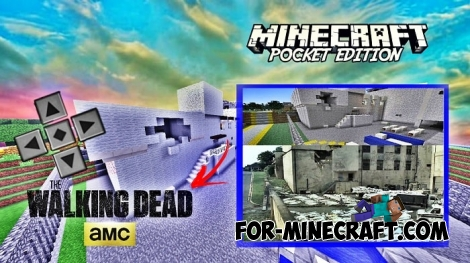 The Walking Dead Locations for MCBE 1.8