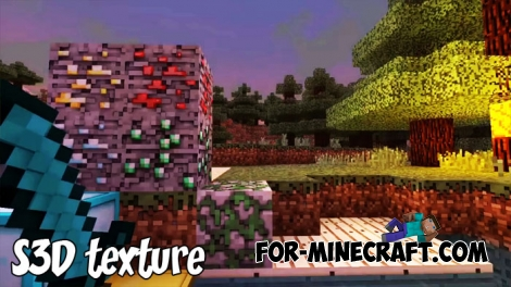S3D texture (Ultra Realistic) for MCBE 1.7/1.8