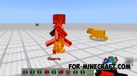Ben 10 addon for Minecraft BE 1.8