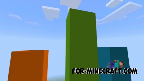 Parkour Up map for Minecraft BE 1.8
