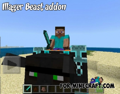 Illager Beast addon for Minecraft 1.8