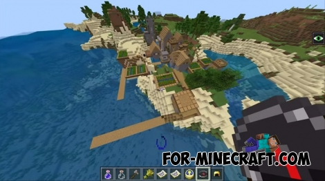 Ocean seed for Minecraft BE 1.7/1.8