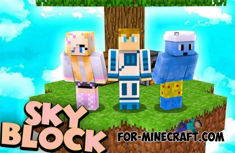 SkyBlock by SkyGames for Minecraft BE 1.8