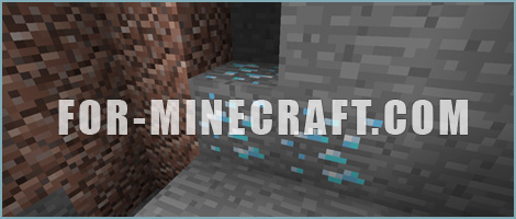 Diamond mining in Minecraft Pocket Edition