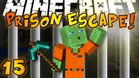 Map «PRISON ESCAPE» for Minecraft Pocket Edition