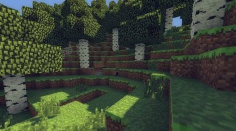 Mod - MineCloud Shaders for Minecraft 1.7.2