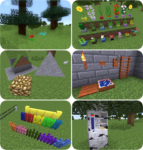 Carpenter's Blocks Mod For Minecraft 1.7.10