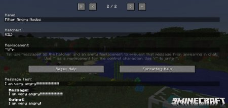ChatFlow mod for Minecraft 1.7.10