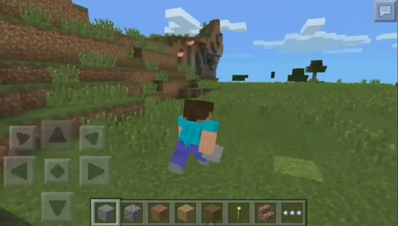 Mod for Block launcher on walking for Minecraft PE 0 9 5 2