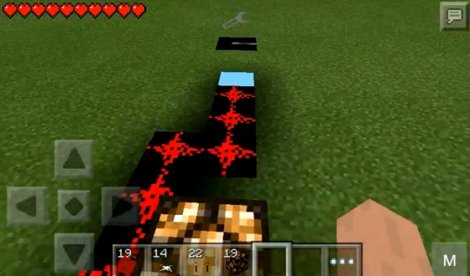 Mod «Redstone» for Minecraft PE 0.9.5