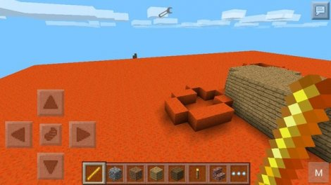 Space flight for Minecraft Pocket Edition 0.9.5.1