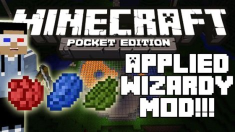 Mod «Applied Wizardy Mod» for Minecraft Pocket Edition