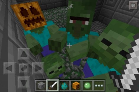 Minecraft PE 0.9.5.2: MORE ZOMBIES MOD