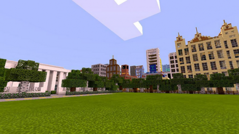 New Bloxten City map for Minecraft Pocket Edition 0.9.5