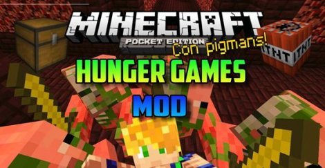 Hunger games server Minecraft PE 0 14 0