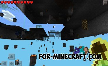 Too many ores mod v.2 for Minecraft Pocket Edition 0.9.5