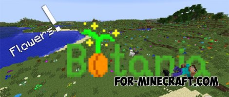 Botania mod for Minecraft Pocket Edition 0.10.0
