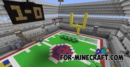 Super Craft Bros Brawl map for Minecraft PE 0.10.0