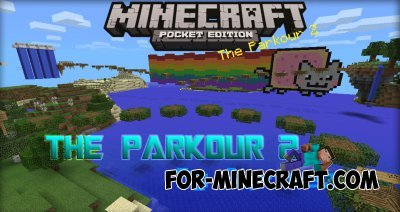 The Parkour 2 map for Minecraft PE 0 10 0