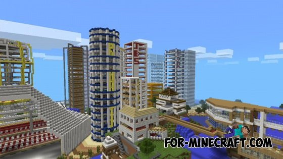 Egaland map for Minecraft Pocket Edition 0.10.0